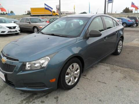 2012 Chevrolet Cruze for sale at Talisman Motor City in Houston TX