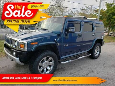 2008 HUMMER H2 for sale at Affordable Auto Sales & Transport in Pompano Beach FL