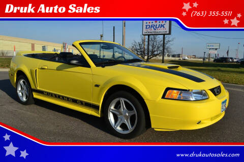 2000 Ford Mustang for sale at Druk Auto Sales in Ramsey MN