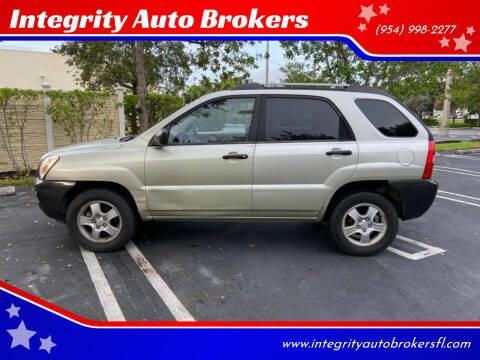 2006 Kia Sportage for sale at Integrity Auto Brokers in Pompano Beach FL