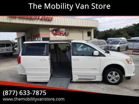 2013 Dodge Grand Caravan for sale at The Mobility Van Store in Lakeland FL