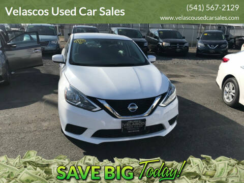 2018 Nissan Sentra for sale at Velascos Used Car Sales in Hermiston OR