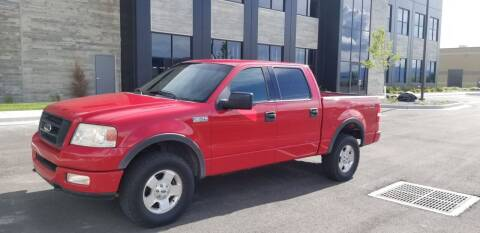2004 Ford F-150 for sale at FRESH TREAD AUTO LLC in Springville UT