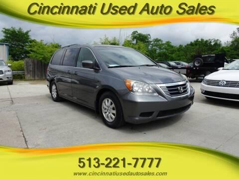 2010 Honda Odyssey for sale at Cincinnati Used Auto Sales in Cincinnati OH