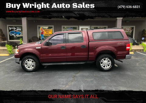 2004 Ford F-150 for sale at Buy Wright Auto Sales in Rogers AR