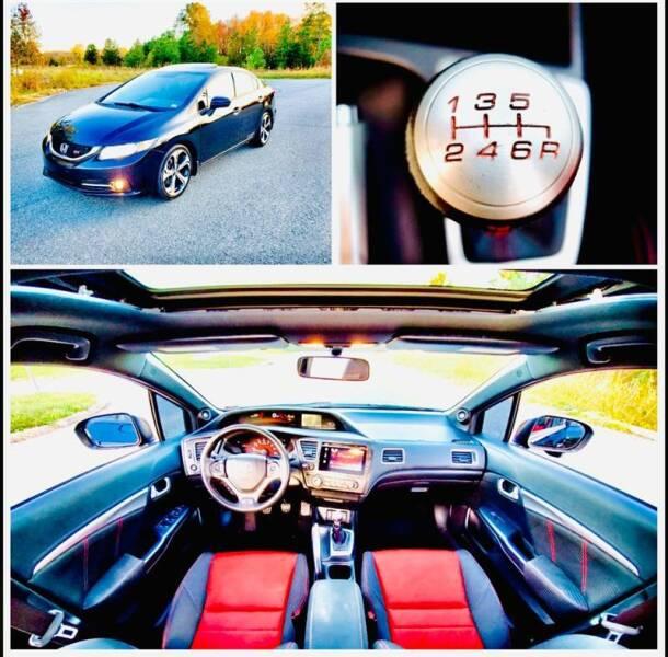 2015 Honda Civic for sale at Apex Autos Inc. in Fredericksburg VA