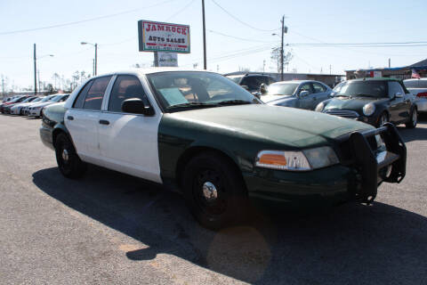 2008 Ford Crown Victoria for sale at Jamrock Auto Sales of Panama City in Panama City FL