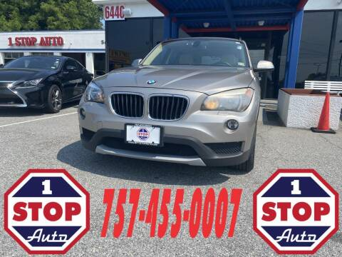 2013 BMW X1 for sale at 1 Stop Auto in Norfolk VA
