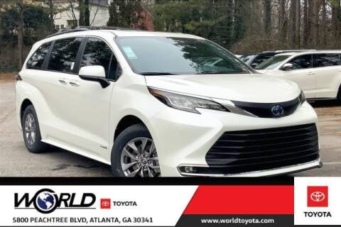 2021 Toyota Sienna for sale at CU Carfinders in Norcross GA