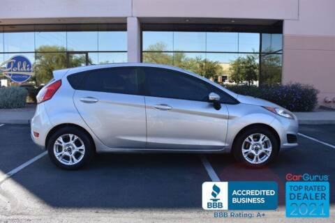 2014 Ford Fiesta for sale at GOLDIES MOTORS in Phoenix AZ