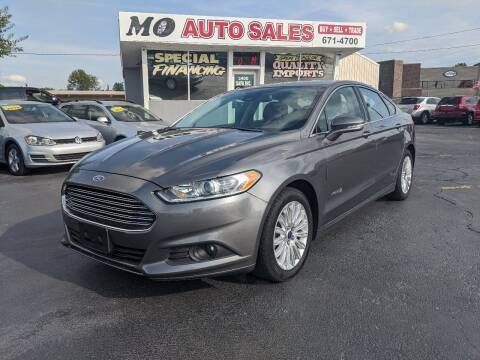 2013 Ford Fusion Hybrid for sale at Mo Auto Sales in Fairfield OH