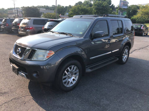 2011 Nissan Pathfinder for sale at J & J Autoville Inc. in Roanoke VA