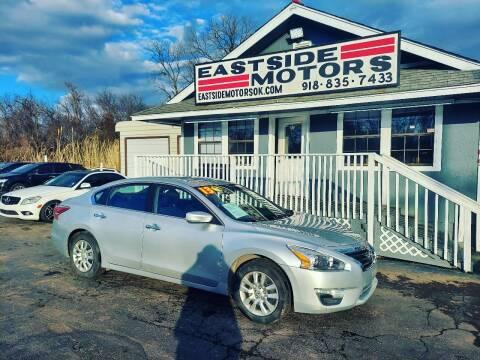 2013 Nissan Altima for sale at EASTSIDE MOTORS in Tulsa OK