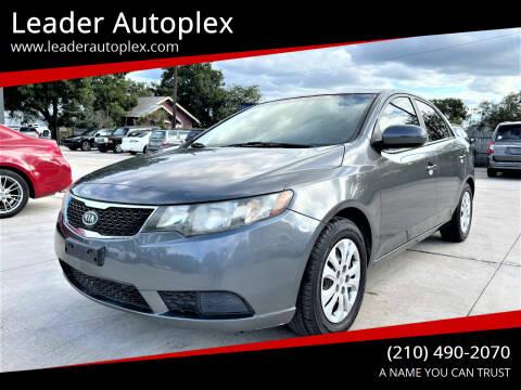 2013 Kia Forte for sale at Leader Autoplex in San Antonio TX
