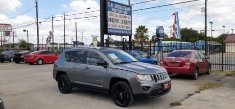 2011 Jeep Compass for sale at S.A. BROADWAY MOTORS INC in San Antonio TX
