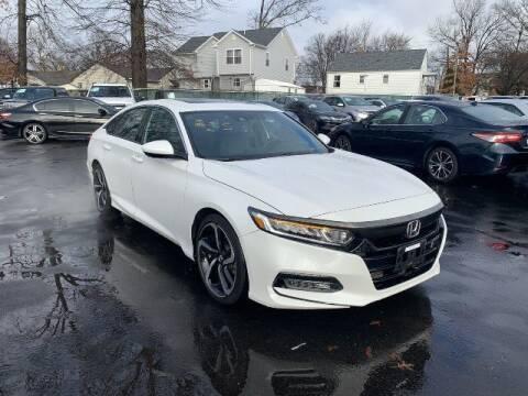 2018 Honda Accord for sale at EMG AUTO SALES in Avenel NJ