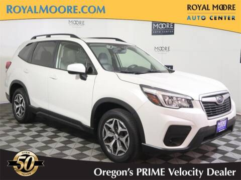 2020 Subaru Forester for sale at Royal Moore Custom Finance in Hillsboro OR