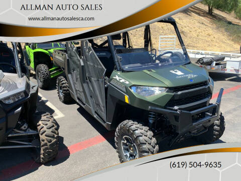 2020 Polaris Ranger Xp 1000 Premium for sale at ALLMAN AUTO SALES in San Diego CA