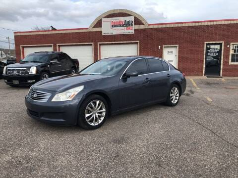 2008 Infiniti G35 for sale at Family Auto Finance OKC LLC in Oklahoma City OK