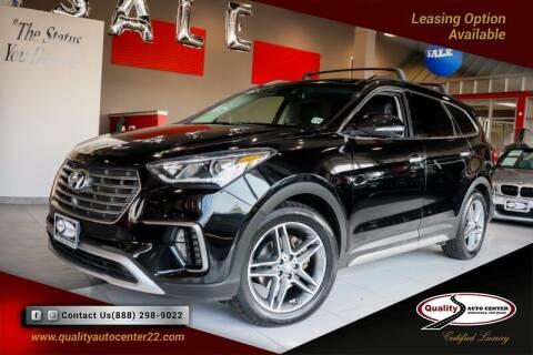 2017 Hyundai Santa Fe for sale at Quality Auto Center of Springfield in Springfield NJ