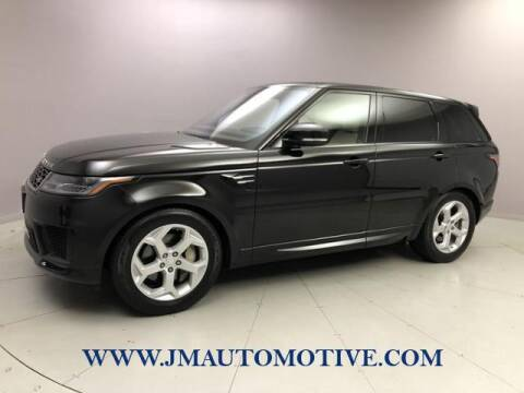 2018 Land Rover Range Rover Sport for sale at J & M Automotive in Naugatuck CT