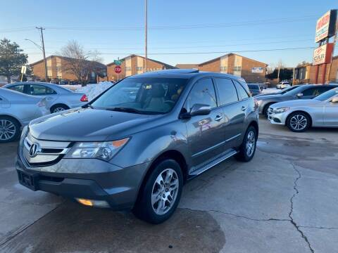 2008 Acura MDX for sale at Car Gallery in Oklahoma City OK