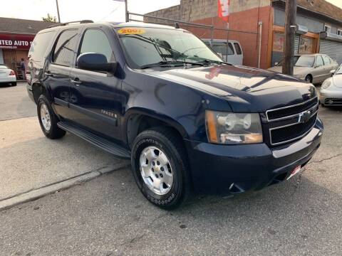 2007 Chevrolet Tahoe for sale at United Auto Sales of Newark in Newark NJ