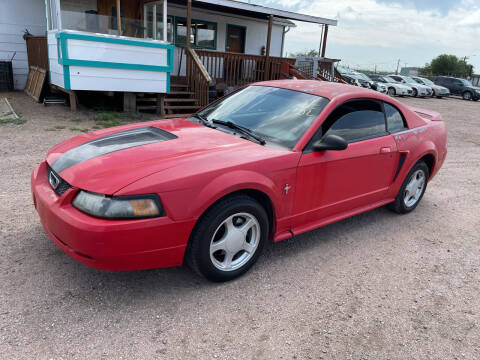 2002 Ford Mustang for sale at PYRAMID MOTORS - Fountain Lot in Fountain CO