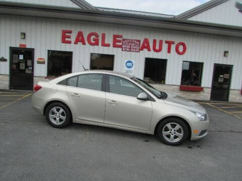 2013 Chevrolet Cruze for sale at Eagle Auto Center in Seneca Falls NY