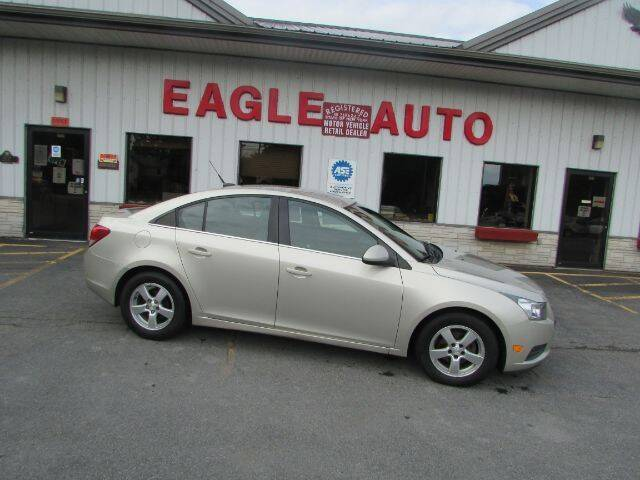 2013 Chevrolet Cruze for sale at Eagle Auto Center in Seneca Falls NY