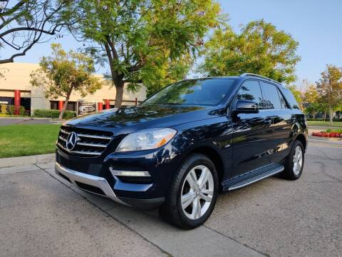2012 Mercedes-Benz M-Class for sale at FANASY AUTO SALES/EXPORT in Yorba Linda CA
