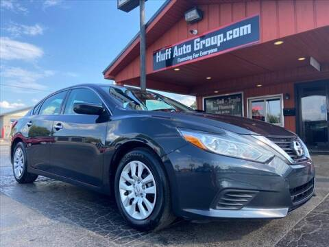 2016 Nissan Altima for sale at HUFF AUTO GROUP in Jackson MI