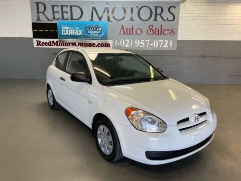 2010 Hyundai Accent for sale at REED MOTORS LLC in Phoenix AZ