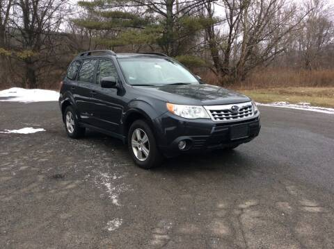 2013 Subaru Forester for sale at Route 102 Auto Sales  and Service in Lee MA