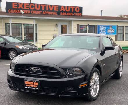 2013 Ford Mustang for sale at Executive Auto in Winchester VA