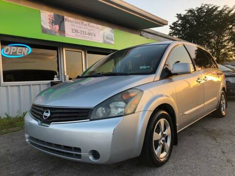 2007 Nissan Quest for sale at EXECUTIVE CAR SALES LLC in North Fort Myers FL