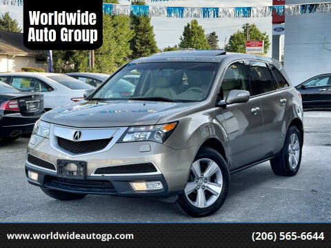 2011 Acura MDX for sale at Worldwide Auto Group in Auburn WA