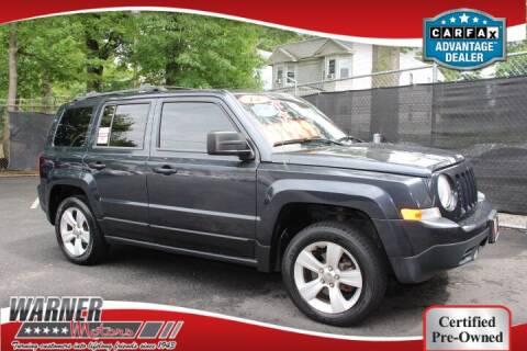 2014 Jeep Patriot for sale at Warner Motors in East Orange NJ