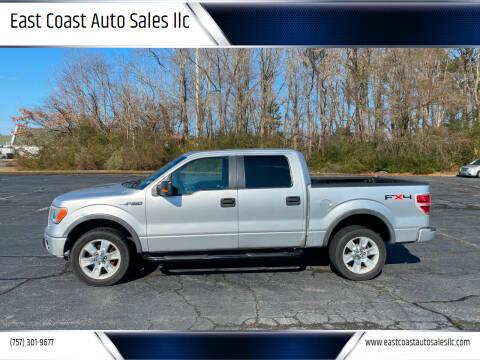 2010 Ford F-150 for sale at East Coast Auto Sales llc in Virginia Beach VA