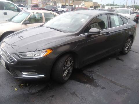 2017 Ford Fusion for sale at Village Auto Outlet in Milan IL