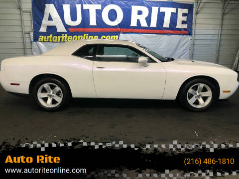 2013 Dodge Challenger for sale at Auto Rite in Bedford Heights OH