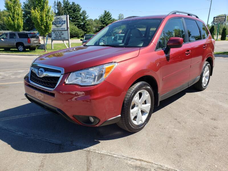 2015 Subaru Forester for sale at Finish Line Auto Sales Inc. in Lapeer MI