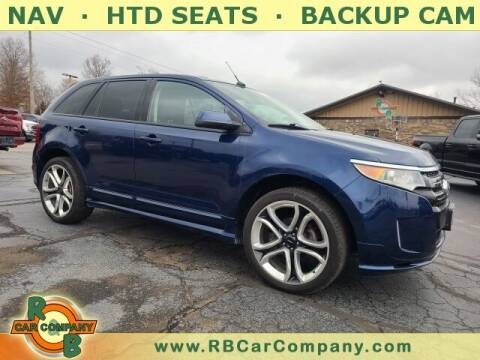 2012 Ford Edge for sale at R & B CAR CO - R&B CAR COMPANY in Columbia City IN