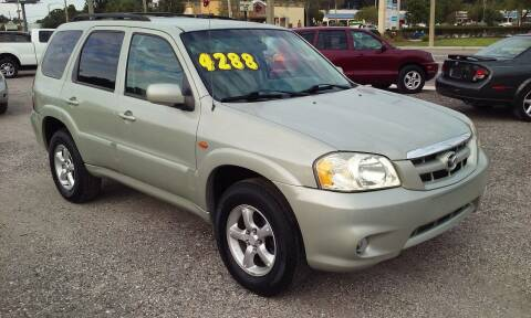 2005 Mazda Tribute for sale at Pinellas Auto Brokers in Saint Petersburg FL
