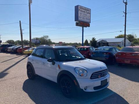 2012 MINI Cooper Countryman for sale at AFFORDABLY PRICED CARS LLC in Mountain Home ID
