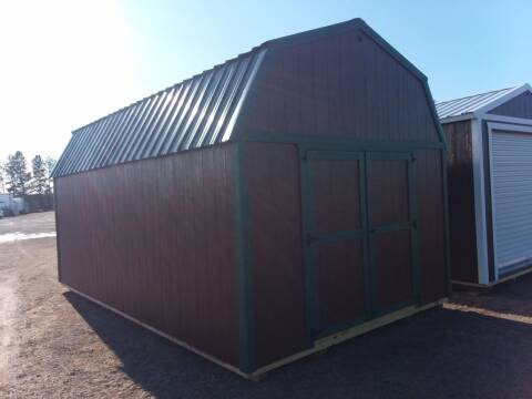 2021 PREMIER PORTABLE BUILDING'S 12X20 URETHANE LOFTED BARN for sale at Dave's Auto Sales & Service in Weyauwega WI