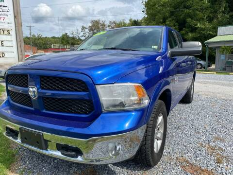 2015 RAM Ram Pickup 1500 for sale at THE AUTOMOTIVE CONNECTION in Atkins VA