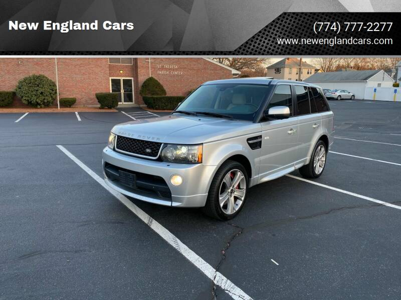 2013 Land Rover Range Rover Sport for sale at New England Cars in Attleboro MA
