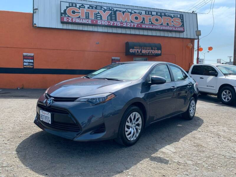 2018 Toyota Corolla for sale at City Motors in Hayward CA