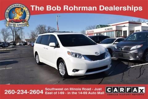 2016 Toyota Sienna for sale at BOB ROHRMAN FORT WAYNE TOYOTA in Fort Wayne IN